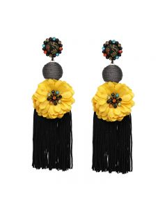 European  style fashion new earrings accessories Tassel Earrings