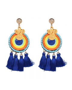 Folk style new Tassel Earrings fashion personality Earrings accessories