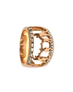 Gold or Silery Fashion Ladies Ring for Christmas's gift